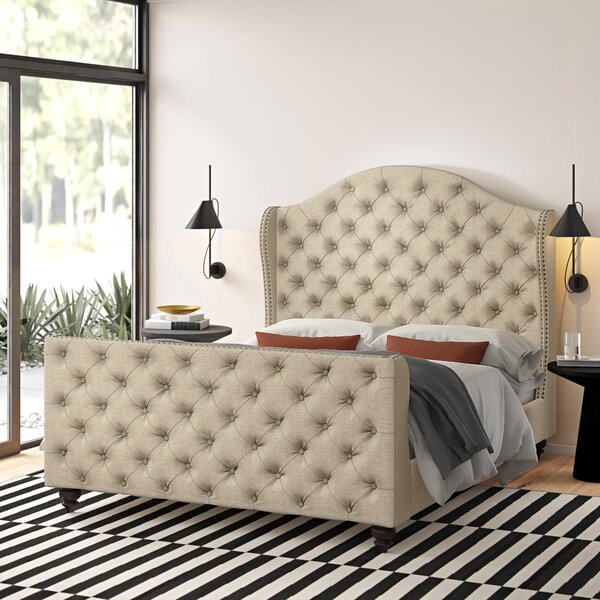 Wydmire Upholstered Standard Bed by Darby Home Co