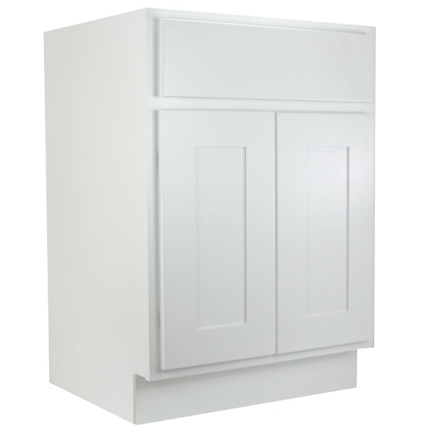 Haxby Single 27 Bathroom Vanity Base by Highland Dunes