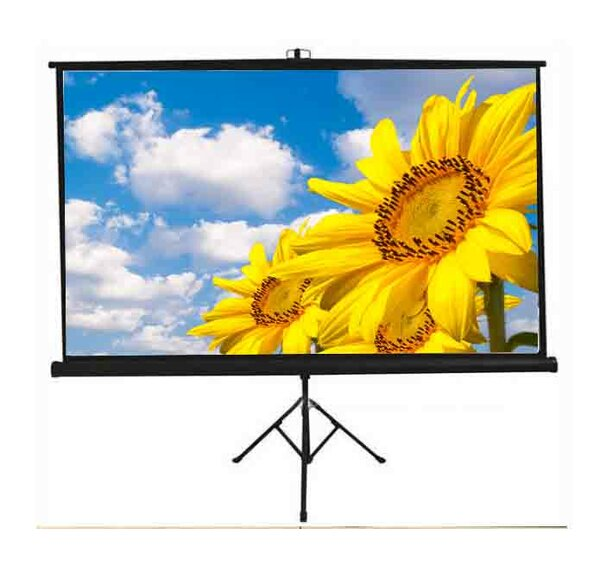 New Matte White Portable Projection Screen by Vivo