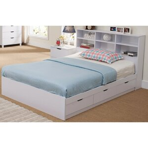 divito beautiful dazzling queen platform bed with 3 drawer chest