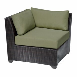 Top Reviews Barbados Corner Chair with Cushions by TK Classics
