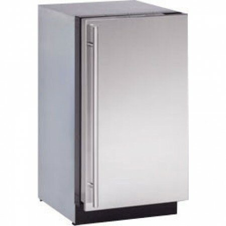 2000 Series Reversible Stainless Steel 18-inch 3.4 cu. ft. Undercounter Refrigeration by U-Line