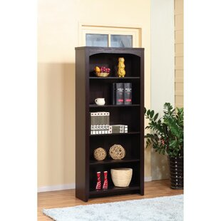 Barwell 5-Tier Standard Bookcase by DarHome Co
