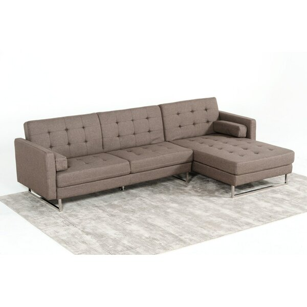 Munday Right Hand Facing Sleeper Sectional by Orren Ellis