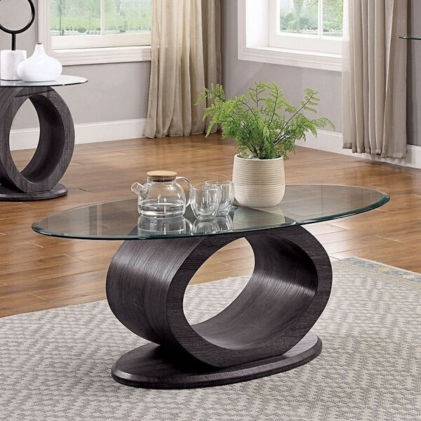 Lodia Pedestal Coffee Table By Williams Import Co.