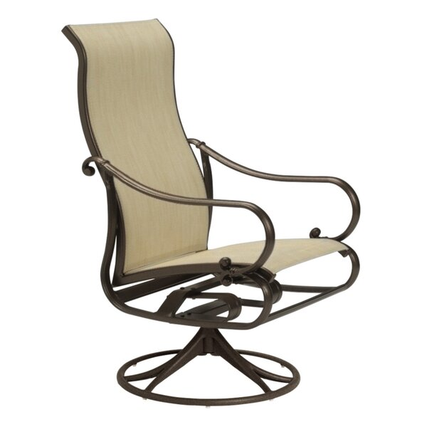Radiance Swivel Patio Dining Chair by Tropitone