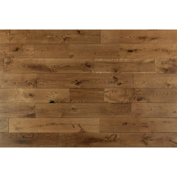Darcy French 6 Solid Oak Hardwood Flooring in Golden by Welles Hardwood