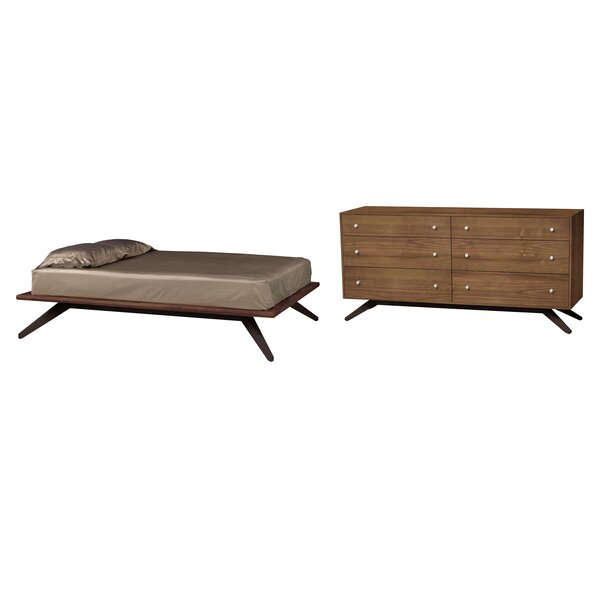 Astrid Platform Configurable Bedroom Set by Copeland Furniture