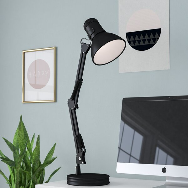 zipcode design rivka swing arm 35 desk lamp reviews wayfair. Black Bedroom Furniture Sets. Home Design Ideas
