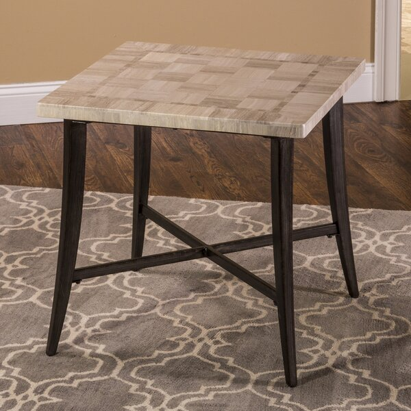 Agacha End Table by World Menagerie