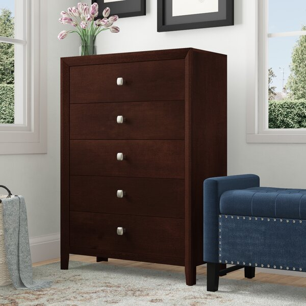Design Chara 5 Drawer Chest By Simmons Casegoods By Latitude Run 2019 Sale