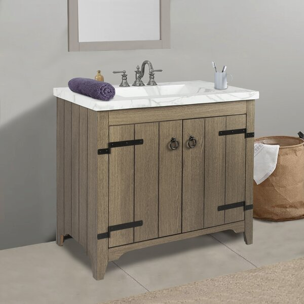 Sia 36 Single Bathroom Vanity Set by Millwood PinesSia 36 Single Bathroom Vanity Set by Millwood Pines