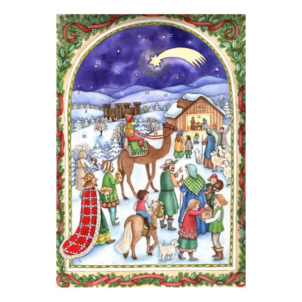 Sellmer Card Nativity Advent Calendar by The Holiday Aisle