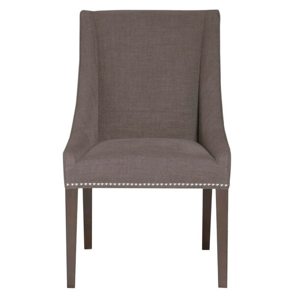 Mcfarland Wooden Upholstered Dining Chair by Canora Grey