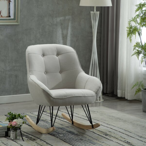Embrace Rocking Chair By Hashtag Home