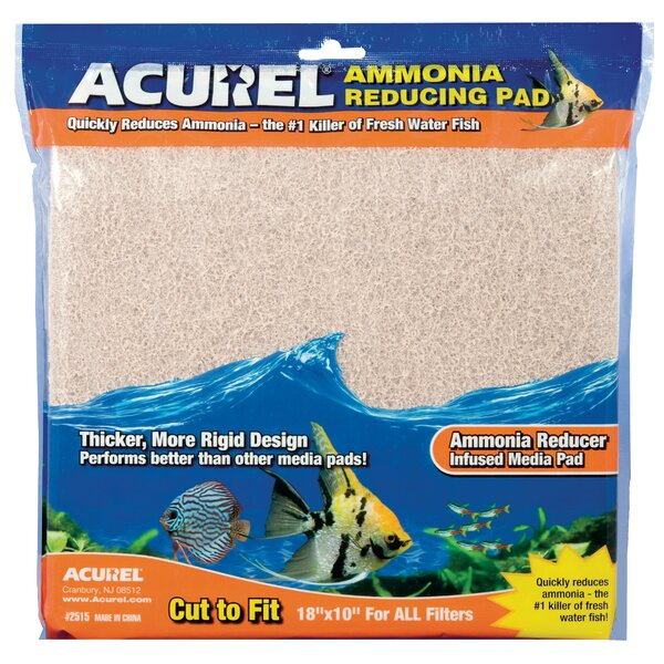 Ammonia Remover Infused Aquarium Pad by Acurel