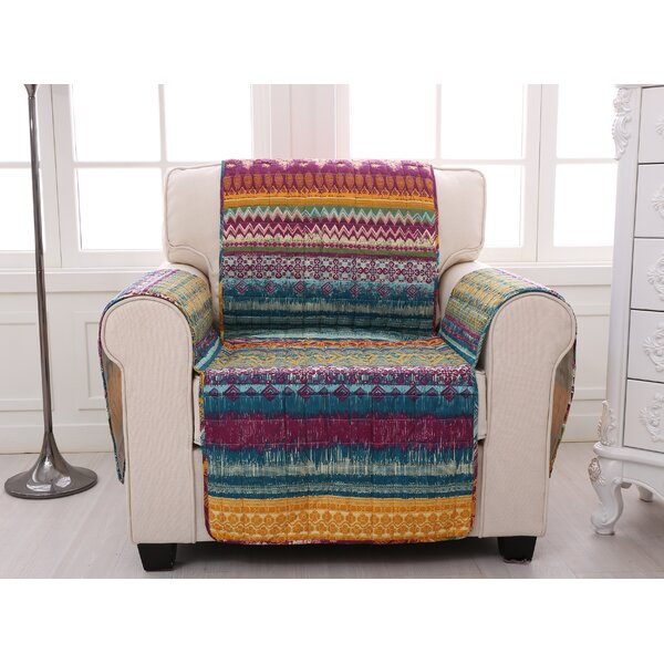 Southwest Quilted Box Cushion Slipcover by Greenla