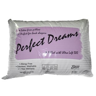 Perfect Dreams Polyfill Standard Pillow By Bicor