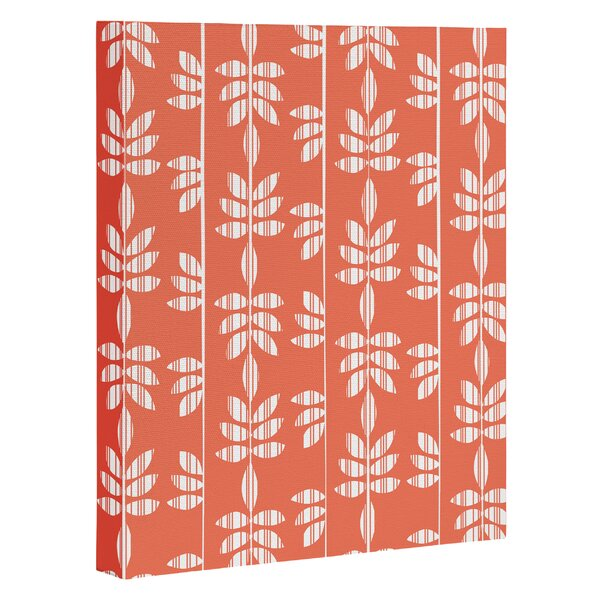 Abadi Coral Graphic Art on Wrapped Canvas by Bay Isle Home
