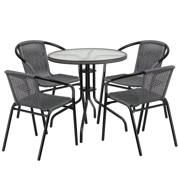 Océane 5 Piece Dining Set by Willa Arlo Interiors