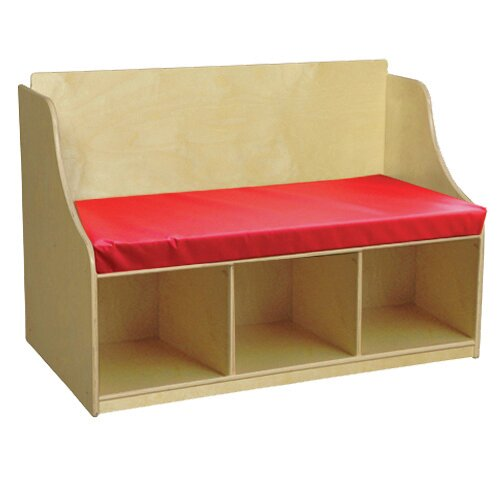 Reading Storage Bench by Wood Designs