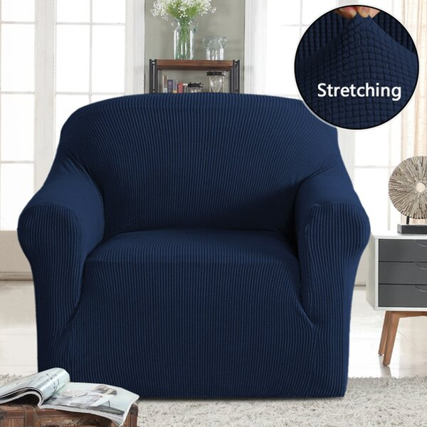 Stretch T-Cushion Armchair by Symple Stuff