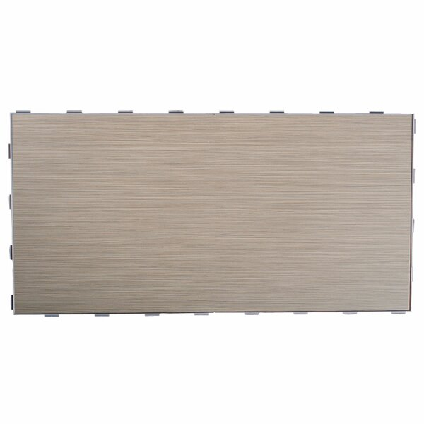 Luxury ThinLine 12 x 24 Porcelain Wood Tile in Stone Bridge by SnapStone