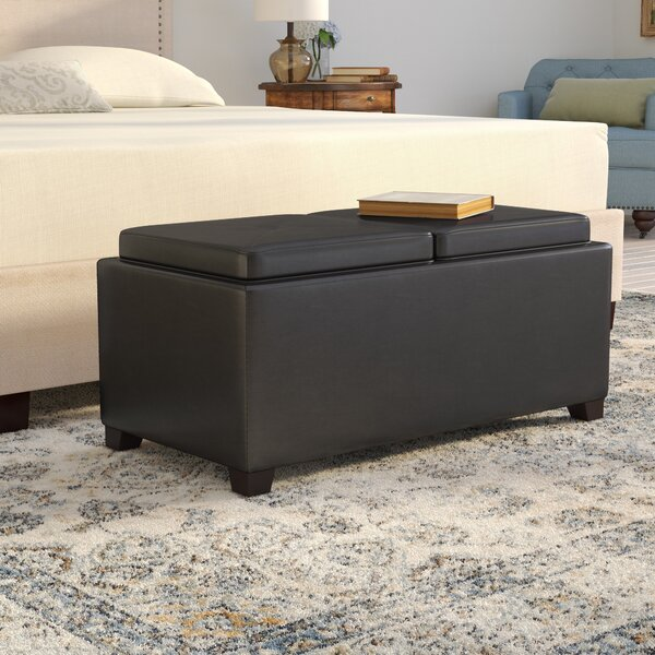 Allison Contemporary Storage Ottoman By Darby Home Co