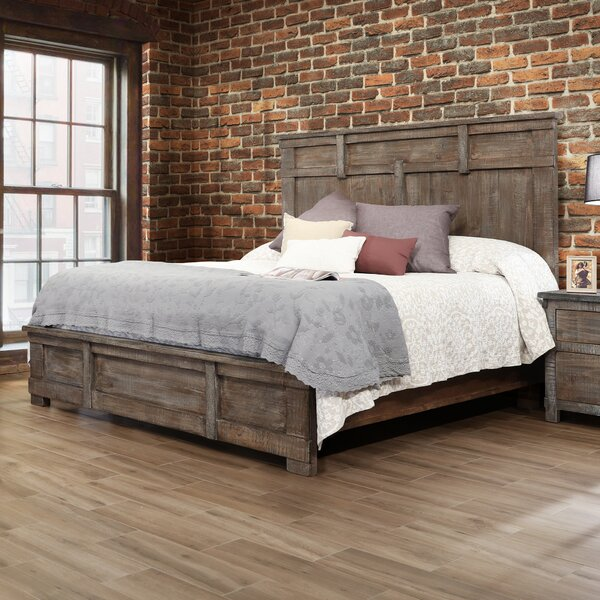 Panel Bed by Artisan Home Furniture