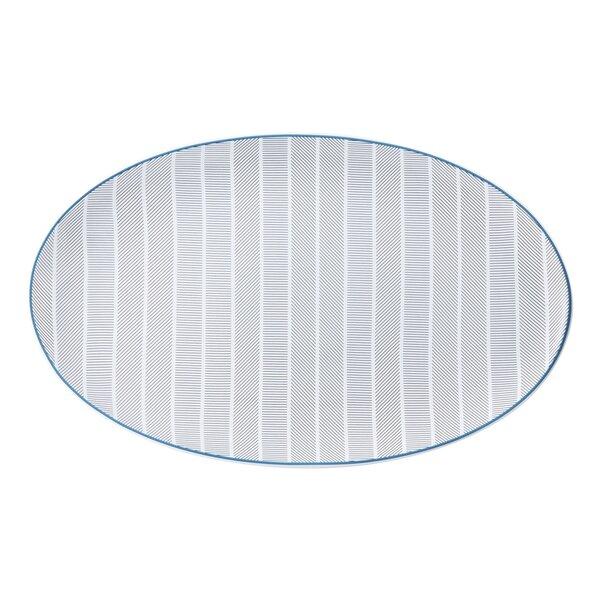 Orquestra Small Oval Platter by Vista Alegre