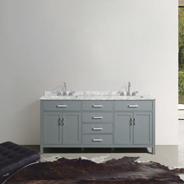 Hagerty 73 Double Bathroom Vanity Set