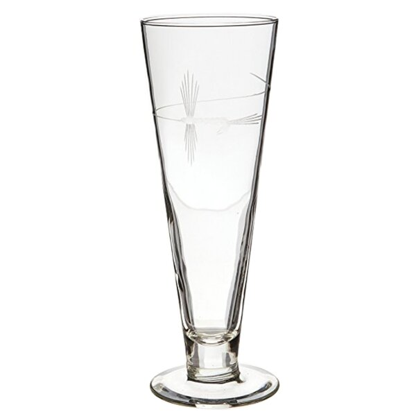 Fly Fishing 16 oz. Pilsner Glass (Set of 4) by Rolf Glass