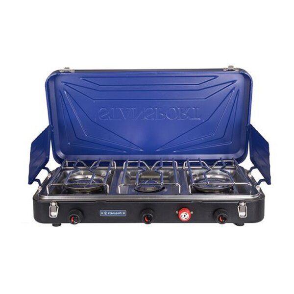 Outfitter Series 3-Burner Propane Outdoor Stove by Stansport