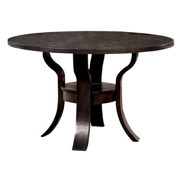 Hoehne Transitional Dining Table by August Grove