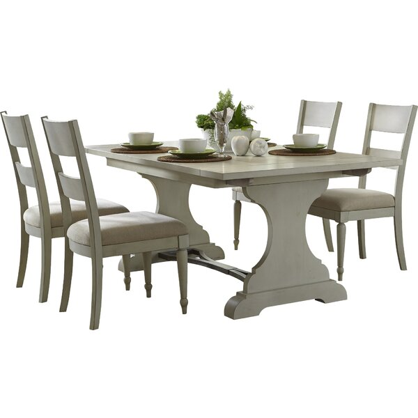 Saguenay 5 Piece Extendable Dining Set by Lark Manor