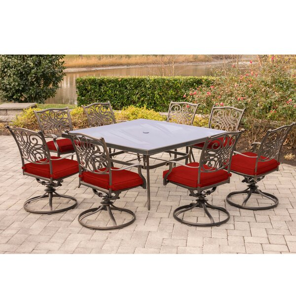 Rettig Traditions 9 Piece Dining Set by Astoria Grand