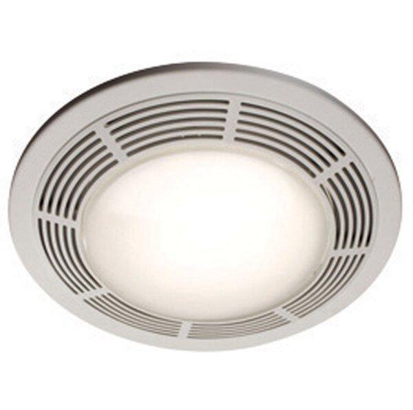 Ceiling Ventilation 100 CFM Bathroom Fan with Ligh