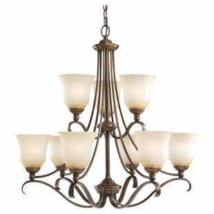 Culley 9-Light Shaded Chandelier By Darby Home Co