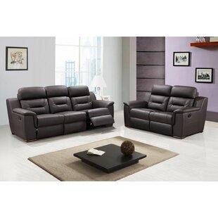 Haggerton 2 Piece Reclining Living Room Set by Red Barrel Studio®