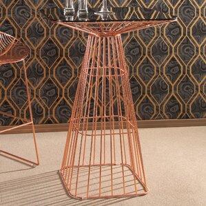 Eustaquio Iron Pub Table by Willa Arlo Interiors