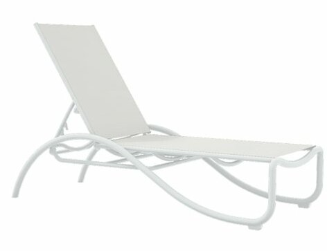 La Scala Reclining Chaise Lounge by Tropitone