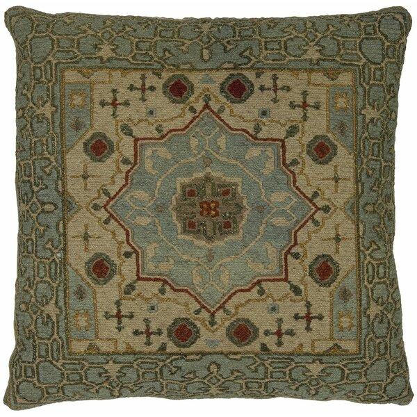 Stuart Wool Throw Pillow by Astoria Grand