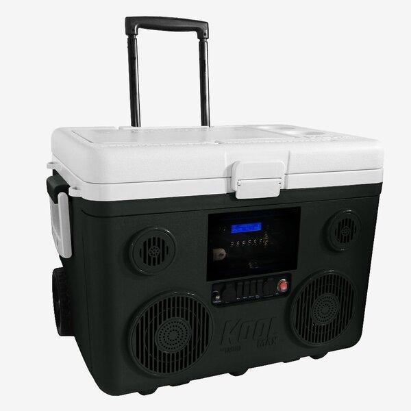 40 Qt. Koolmax Bluetooth PA System Wheeled Cooler