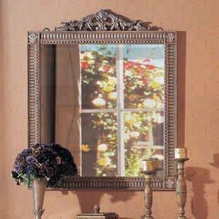 Astoria Grand Ovid Wood Wall Mirror