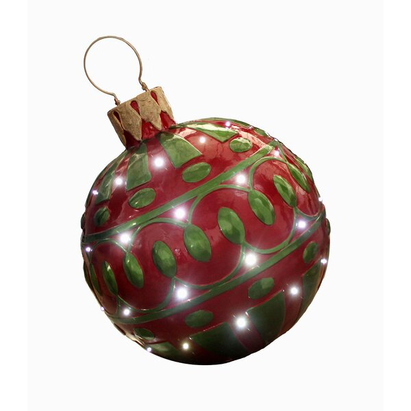 Christmas Ball Ornament with LED by The Holiday Aisle