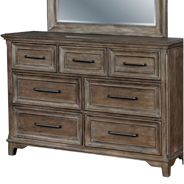 Mcmillin 7 Drawer Double Dresser by Gracie Oaks