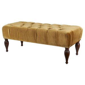 Dyer Tufted Bench by Alcott Hill