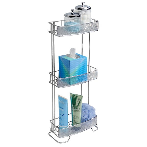 Eisenhart 10.6 W x 25.6 H Bathroom Shelf by Rebrilliant
