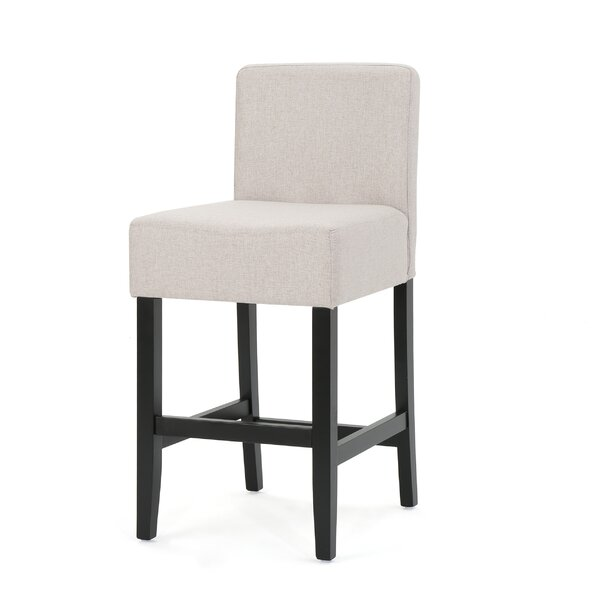Chamness Fabric Counter Accent Stool (Set of 2) by Latitude Run