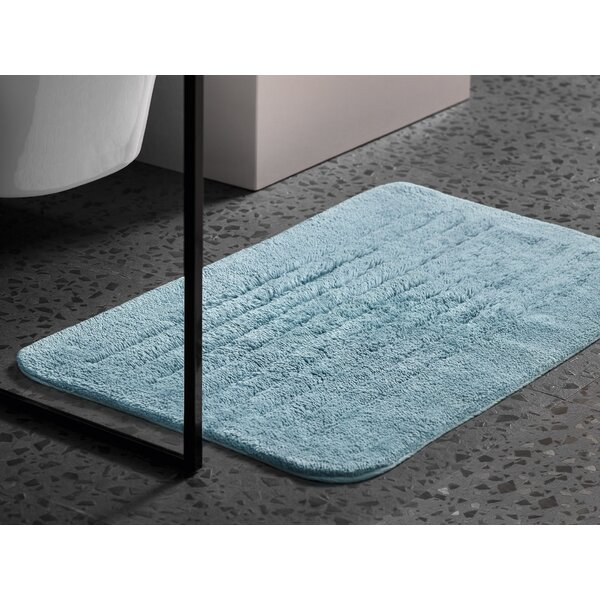 Alieza Rectangle 100% Cotton Bath Rug